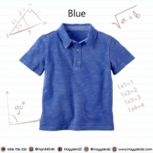 POLO 1.7 BLUE  KAOS ANAK