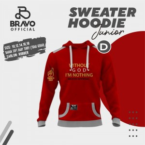 BR D RED TOMATO GOD SWEATER HOODIE JUN BRAVO