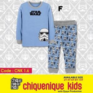 CNK 1.6 BLUE MASK PIYAMA CHIQUE NIQUE KIDS