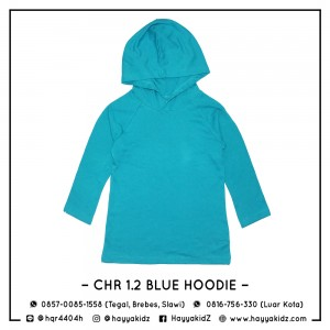 CHR 1.2 BLUE HOODIE CHEROKEE