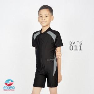 ED DV TG 001 BLACK-GREY BAJU RENANG ANAK EDORA