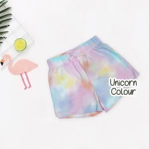 MEZ 5.2 UNICORN COLOUR SHORT PANTS GIRL