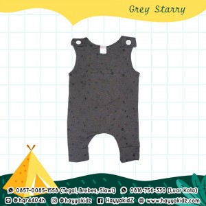 BB 5.7 GREY STARRY JUMPSUIT BOBO