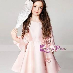 KOREAN PINK 113 DRESS PEACH