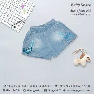 FL 1.20 BABY SHARK SHORT PANTS 1-3 FEELIT