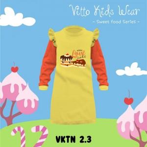 VKTN 2.3 YELLOW CAKE TUNIK ANAK VITTO