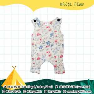 BB 5.4 WHITE FLOW JUMPSUIT BOBO