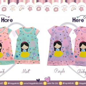 HH 1.7 SO CUTE DRESS ANAK HERE HORE  20 22 24