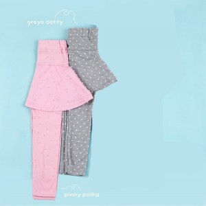 GLS 1.8 JUN GREYO DOTTY GISELLE LEGGING SKIRT