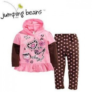 JUMPING BEANS SET SHOP PINK BESAR
