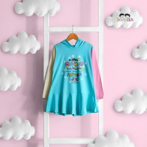 BOO 2.1 SOFT BLUE MOTHER TUNIK HOODIE BOOGIEA