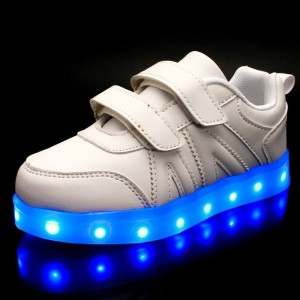 7 LIGHT BBG WHITE SHOES BIG