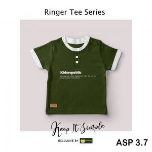 ASP 3.7 GREEN BOTTLE KIDS REPUBLIC KAOS ANAK ARKS STYLE