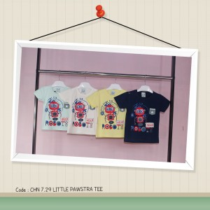 CHN 7.29 LITTLE PAWSTRA TEE