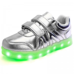 7 LIGHT BBG SILVER SHOES BIG