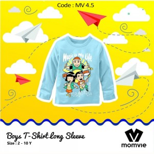 MV 4.5 BLUE MUSIC KAOS ANAK MOMVIE