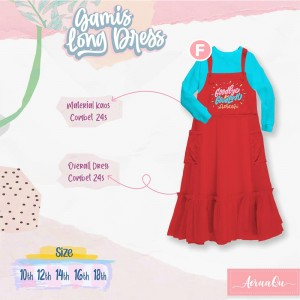 AER 2.6 F BLUE-RED CHILI GAMIS OVERALL AERAAQU