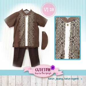 CTR BIG VI-18 BROWN BTK KOKO ANAK CUTERIK