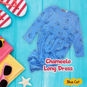 CHM 4.13 BLUE CAT LONG DRESS