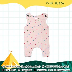 BB 5.2 PINK DOTTY  JUMPSUIT BOBO