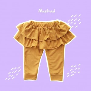ALD 1.3 JUN MUSTARD ALODIA PANTS SKIRT