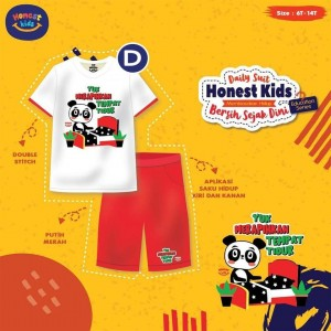 HK D WHITE PANDA SETELAN EDUCATION HONEST KIDS