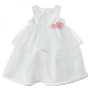 CARTER'S DRESS WHITE TUTU