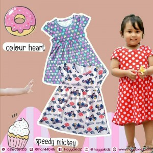 FREYA DRESS COLOUR HEART