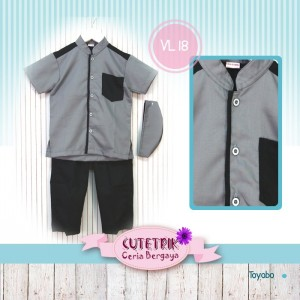 CTR REG VL-18 GREY BLACK GAMIS CUTETRIK