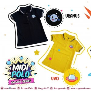 MP JUN URANUS MIDI POLO DRESS