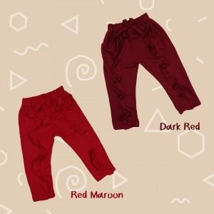 ZIOP 1.6 RED MAROON ZIORA PANTS