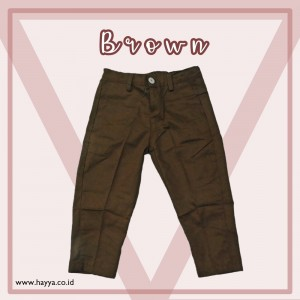 LONG CHINO BROWN