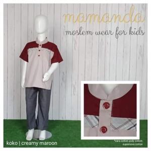 MMD SK CREAMY MAROON KOKO MAMANDA XXL