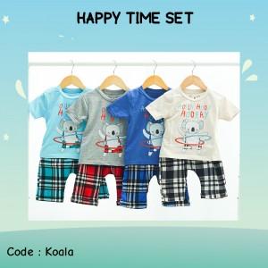 HAPPY 9.4 BLUE KOALA SET HAPPY TIME