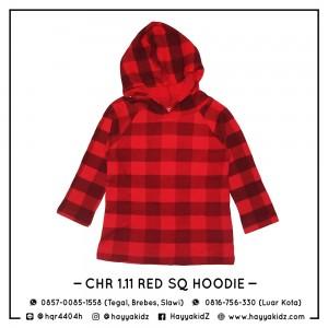 CHR 1.11 RED SQ HOODIE CHEROKEE SHIRT