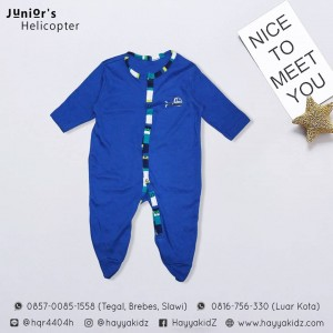 JUNIORS JUMPSUIT HELICOPTER
