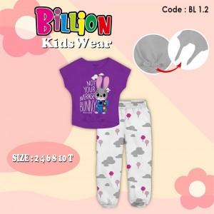 BL 1.2 PURPLE BUNNY SETELAN BILLION