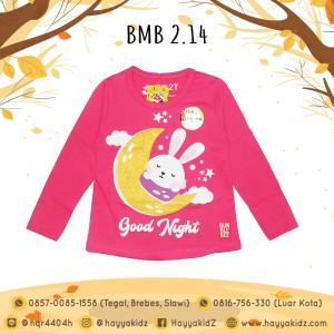 BMB 2.14 PINK NIGHT KAOS ANAK BUMBLEBEE