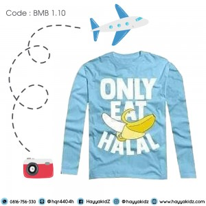 BMB 1.10 ONLY EAT HALAL KAOS ANAK BUMBLEBEE