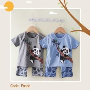 HAPPY 1.6 PANDA SET BABY BOY HAPPY TIME