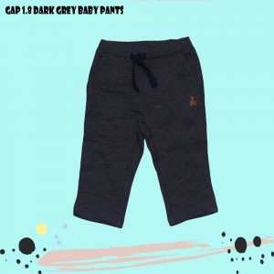 GAP 1.8 DARK GREY BABY PANTS
