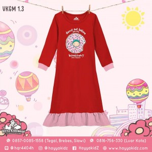 VKGM 1.3 RED DONUT GAMIS ANAK VITTO
