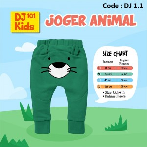 DJ 1.1 GREEN JOGER ANIMAL