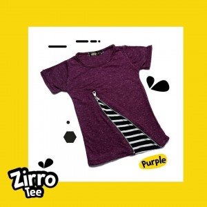 ZT KIDS 1.8 PURPLE ZIRRO TEE