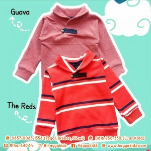 SUEDE SWEATER THE REDS