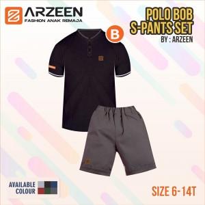 AR 2.2 BLACK POLO BOB SETELAN ARZEEN