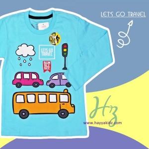 BUMBLEBEE TEE LETS GO TRAVEL