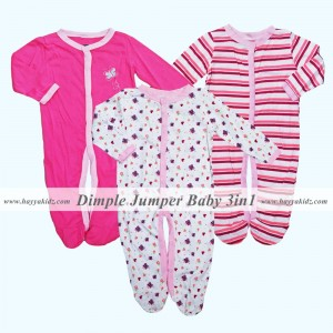 DIMPLE JUMPER 3IN1 PINK