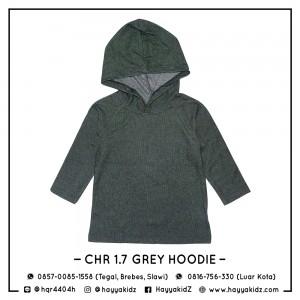 CHR 1.7 GREY HOODIE CHEROKEE SHIRT