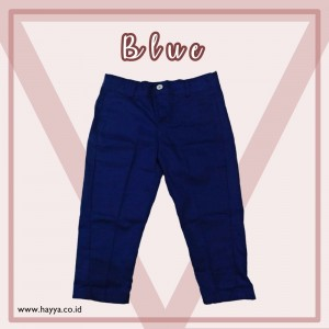 LONG CHINO BLUE